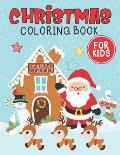 Christmas coloring book for kids: A Super Amazing Christmas Coloring Book For Kids Age 6-14: 8.5 x 11 Big Size Christmas Coloring Book For Children.