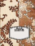 Brown Leaf Composition Book: Kanji Practice Notebook for School