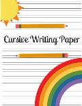 Cursive Writing Paper