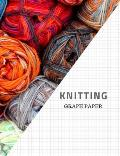 Knitting Graph Paper: Design Your Own Patterns Notebook