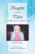 Thoughts From Millie: at 89, 90, and 91 Years of Age