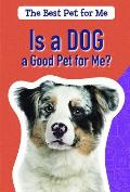 Is a Dog a Good Pet for Me?