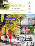 Art Book, Painting and Grayscale Coloring Book - Become a Painter: Painted France (Book AC, Pics: S+D)