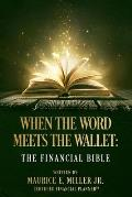 When The Word Meets The Wallet: The Financial Bible