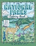 The National Parks Coloring Book