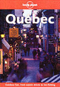 Lonely Planet Quebec 1st Edition