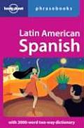 Latin American Spanish Phrasebook 4th Edition