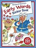 Richard Scarrys Early Words Sticker Book