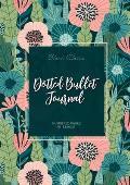 Dotted Bullet Journal: Medium A5 - 5.83X8.27 (Meadow Flowers)