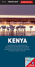 Kenya Travel Map 8th Edition