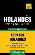 Vocabulario espa?ol-holand?s - 7000 palabras m?s usadas
