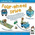 My 4WD Convertible A Book that Converts to a Playmat & Converts to a Four Wheel Drive