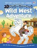 3D Dot to Dot Wild West Adventure
