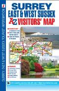 Surrey East & West Sussex Visitors Map