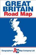 Great Britain Road Map