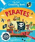 Pirates My First Creativity Book Over 200 Stickers Fold Out Pages Coloring