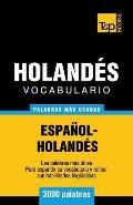 Vocabulario espa?ol-holand?s - 3000 palabras m?s usadas