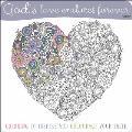 God's Love Endures Forever Coloring Book