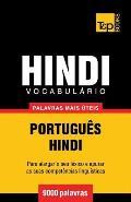 Vocabul?rio Portugu?s-Hindi - 9000 palavras mais ?teis