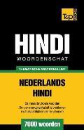 Thematische woordenschat Nederlands-Hindi - 7000 woorden