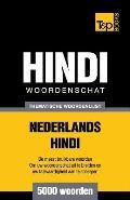 Thematische woordenschat Nederlands-Hindi - 5000 woorden