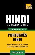Vocabul?rio Portugu?s-Hindi - 7000 palavras mais ?teis