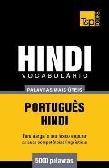 Vocabul?rio Portugu?s-Hindi - 5000 palavras mais ?teis