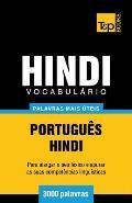 Vocabul?rio Portugu?s-Hindi - 3000 palavras mais ?teis