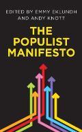 The Populist Manifesto