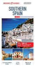 Insight Guides Travel Map Southern Spain