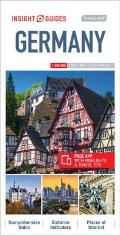 Insight Guides Travel Map Germany