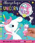 Always Hug a Unicorn [With Board Book and 10 Toy Characters and Soft Mat Decorated with Colorful Scenes]