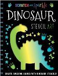 Dinosaur Stencil Art
