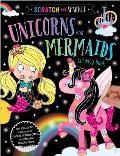 Unicorns and Mermaids Activity Book