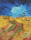 Vincent Van Gogh Tagesplaner 90 Tage: Kornfeld Mit Kr?hen - 3-Monatsplaner Mit Kalender - Einfacher ?berblick ?ber Die Terminpl?ne - Planer 12 Wochen