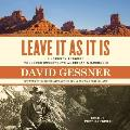 Leave It as It Is: A Journey Through Theodore Roosevelt's American Wilderness