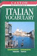 Caxton Italian Vocabulary