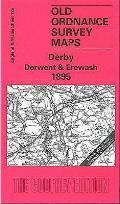 Derby Derwent and Erewash 1895: One Inch Sheet 125