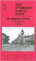 Birmingham (West) 1914: Warwickshire Sheet 13.08