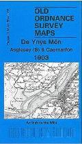 Anglesey (South) and Caernarfon 1903: One Inch 105