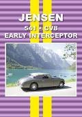 Jensen Early Interceptor, 541 and CV8