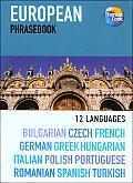 European Phrasebook 3rd Edition 12 Languages