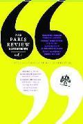 Paris Review Interviews Volume I