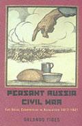 Peasant Russia Civil War The Volga Countryside In Revolution 1917 1921