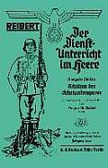 Reibert. Der Dienstunterricht Im Heere (Army Service Training)