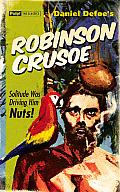 Robinson Crusoe Greeting Card: Pulp Classics Greeting Card