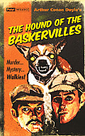 Hound of the Baskerville Greeting Card: Pulp Classics Greeting Card