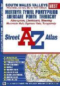 South Wales Valleys (West) Street Atlas