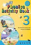 Jolly Phonics Activity Book 3g, O, U, L, F, B