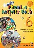 Jolly Phonics Activity Book 6y, X, Ch, Sh, Th, Th